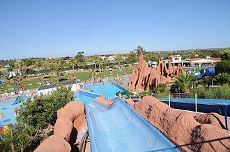 Lagoa, Algarve - Image: Slide and Splash