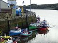 Small boats at the mouth of the Ouseburn - geograph.org.uk - 1052137.jpg