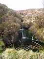 Small waterfall on the Nant Lwyd - geograph.org.uk - 1265555.jpg