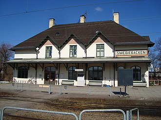 Smedjebacken - Smedjebacken railway station