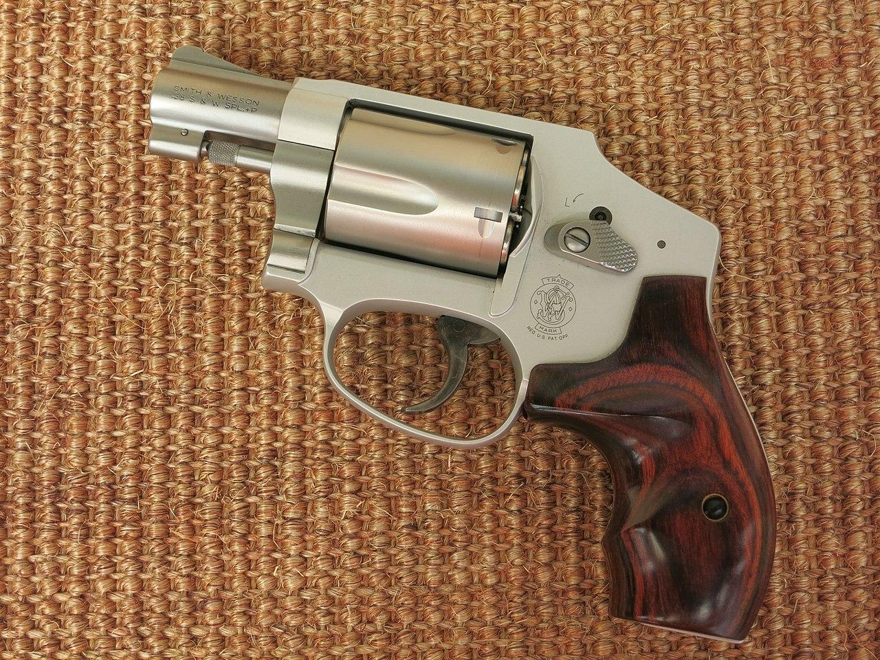 Smith & Wesson Model 642 LS Ladysmith (29989261691).jpg