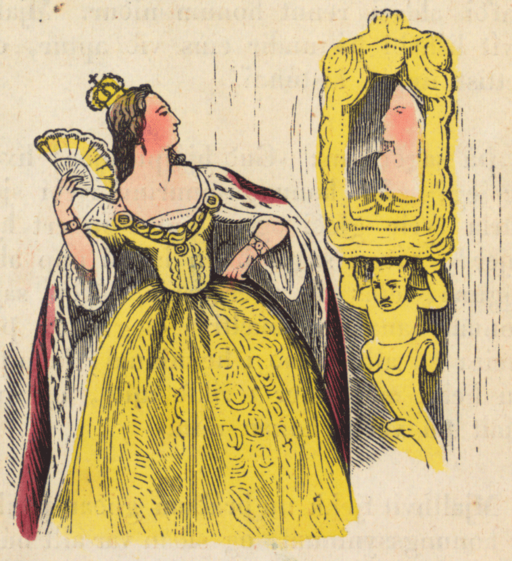 Snow White Mirror