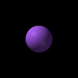 Sodium chlorite - Image: Sodium 3D