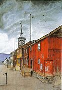Sohlberg-Gate i Røros