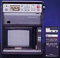 Sony SL-MV1 and RMT-117 20051001.jpg