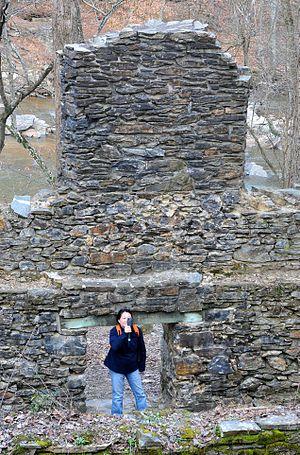 Sope Creek - Sope Creek Ruins