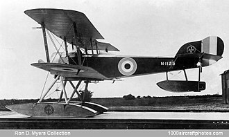 Sopwith Baby - Sopwith Baby in use with the Royal Norwegian Navy Air Service