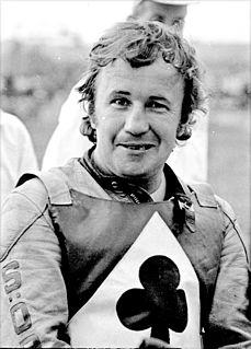 Sören Sjösten Swedish speedway rider