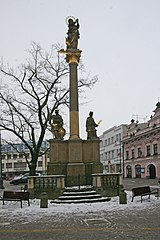 Maria column in Litomyšl