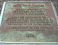 South Point Complex Plaque.JPG