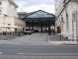 Southampton Terminus railway station - Image: Southampton terminus canopy