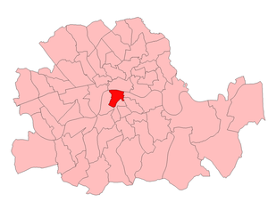 Southwark North (UK Parliament constituency) - Southwark North in the Parliamentary County of London, 1918-49