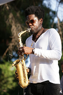 Soweto Kinch British jazz alto saxophonist and rapper (born 1978)