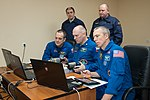 Soyuz MS-08 crew members practice rendezvous techniques.jpg