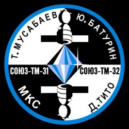 Soyuz TM-32 patch.png