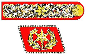 Uniforms and insignia of the Sturmabteilung - Ernst Röhm's special insignia as SA Chief of Staff, used between 1933 and 1934. The insignia was abolished after the Night of the Long Knives.