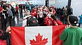 Special Olympics World Winter Games 2017 arrivals Vienna - Canada 01.jpg