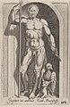 Speculum Romanae Magnificentiae- Jupiter (Jupiter in aedibus Card. Burghesij) MET DP870324.jpg