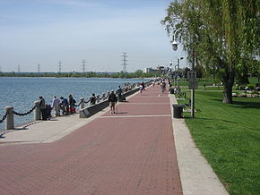 Spencer Smith Park on Burlington's waterfront