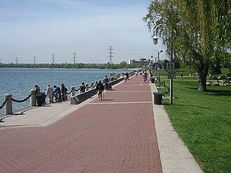Burlington, Ontario - Spencer Smith Park on Burlington's waterfront