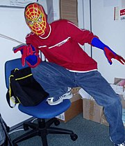 File:Spiderman costume.jpg. Size of this preview: 512 × 599 pixels. spiderman costume