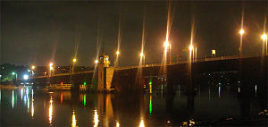 Spit Bridge - The Spit Bridge from Ellery's Punt Reserve.