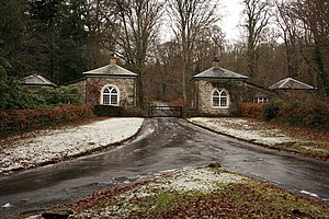 Spitchwick - Lower Lodge, gatehouse to Spitchwick House