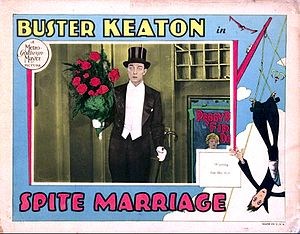 Spite Marriage - Lobby card