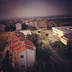 Panorama of inner Sremčica