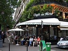 Caf Ef Bf Bd St Germain Paris  Salle Er  Ef Bf Bdtage