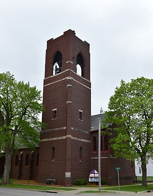 St. James Episcopal Church (Oskaloosa, Iowa) - Image: St. James Episcopal Church Oskaloosa, Iowa