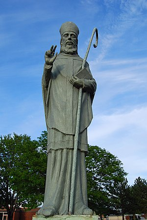 Saint Malachy - Statue of Malachy, Sterling Heights, Michigan