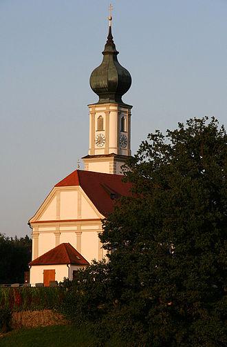 Niedertaufkirchen - Saint Martin Church