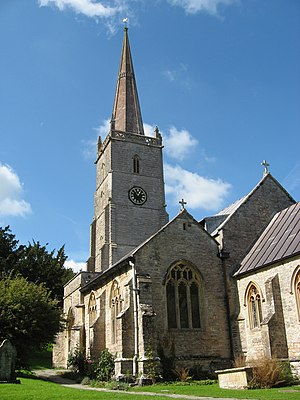 Church of St Mary, East Brent - Image: St. Mary The Virgin, East Brent. panoramio