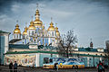 St. Michael's Golden-Domed Monastery in Kiev, Ukraine.jpg