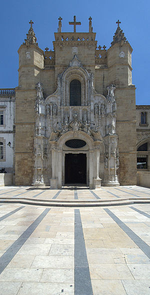 Monastery of Santa Cruz (Coimbra) - Main façade of Santa Cruz Monastery