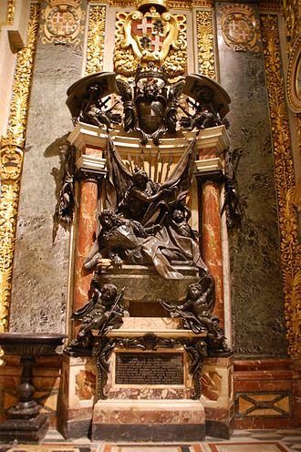 Marc'Antonio Zondadari - Image: St Johns Co Cathedral Malta 2010DOB055