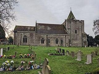 St Nicholas Church, Leeds Church in Kent, England