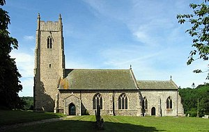 Honingham - Image: St Andrew, Honingham, Norfolk geograph.org.uk 628254