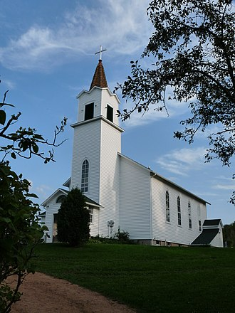Historic St. Ann's (Greenwood, Taylor County, Wisconsin) - Image: St Annes Church Chelsea Wisconsin