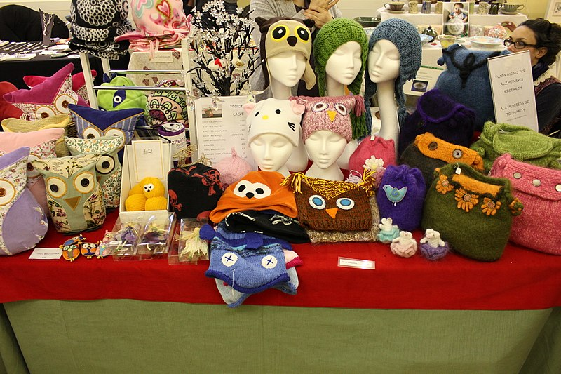 File:St Briavels Art and Craft Fair 2012 12.JPG