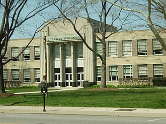St. Edward High School (Ohio) - Image: St Edward High School (Lakewood, Ohio)