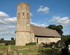 St Mary's church, Ashby, Suffolk - geograph.org.uk - 1507383.jpg