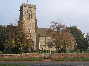 Brettenham, Suffolk - Image: St Mary's church, Brettenham geograph.org.uk 596244