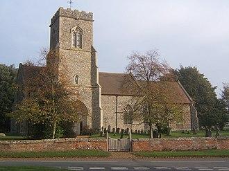 Brettenham, Suffolk - Image: St Mary's church, Brettenham geograph.org.uk 596244