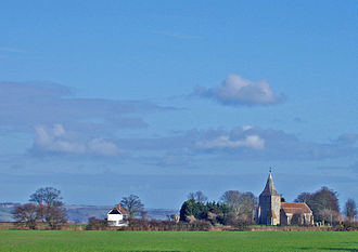 Romney Marsh - Image: St Mary in the Marsh
