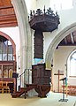 St Mary the Virgin, Great Baddow, Essex - Pulpit - geograph.org.uk - 1497612.jpg