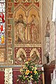 St Michael and All Angels, Hughenden, Bucks - Wall painting in chancel - geograph.org.uk - 1116588.jpg