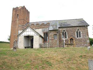 Church of St Michael, Raddington - Image: St Michaels Church, Raddington