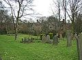 St Oswald's Churchyard, Guiseley - geograph.org.uk - 340815.jpg